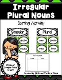 Irregular Plural Noun Sort