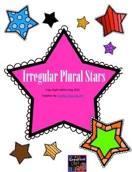 Irregular Plural Noun Stars