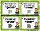 Irregular Plural Noun Task Cards