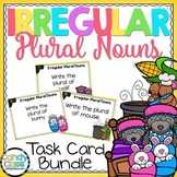 Irregular Plural Nouns Task Cards Bundle