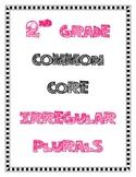 Irregular Plural Nouns: 2nd Grade Common Core