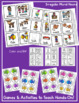 Irregular Plural Nouns Teaching Packet Game, Worksheet, Activity and More!