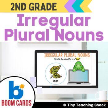 Irregular Plural Nouns Boom Cards