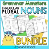 Irregular Plural Nouns Bundle of Activities