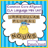 Irregular Plural Nouns - CCSS Friendly Monster