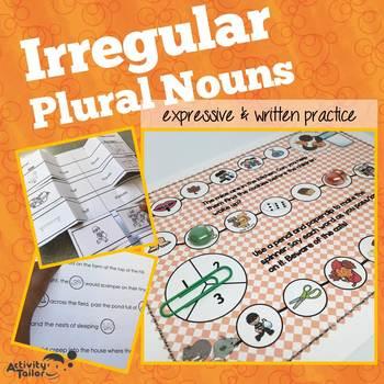 Irregular Plural Nouns Expressive and Written Language