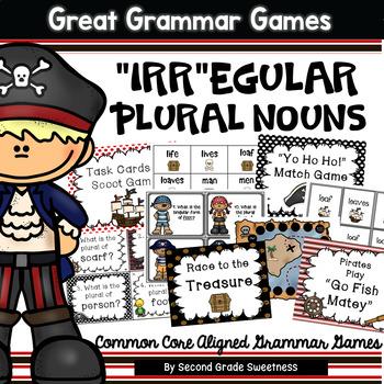Irregular Plural Nouns Games and Activities