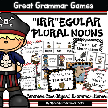 Irregular Plural Nouns Games and Activities