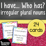 Irregular Plural Nouns - I have... Who has?