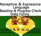 Irregular Plural Nouns & Irregular Past Tense Verbs Data Forms