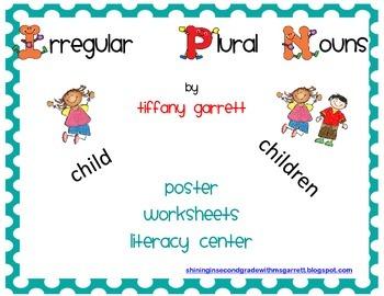 Irregular Plural Nouns Literacy Packet
