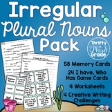 Irregular Plural Nouns Activities and Practice