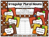 Irregular Plural Nouns Scoot Fall