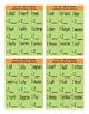 Irregular Plural Nouns Tic-Tac-Toe or Bingo Game