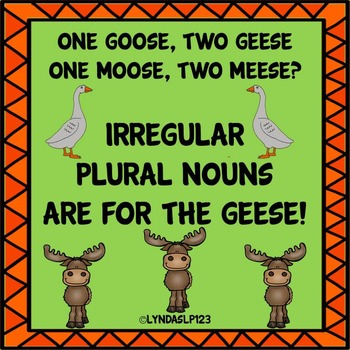 Irregular Plural Nouns are for the Geese