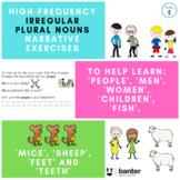 Irregular Plural Nouns (including people, men, women, children, teeth, fish)