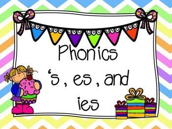 Irregular Plural Nouns (s, ies, es) PowerPoint