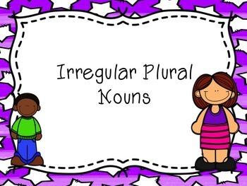 Irregular Plural Nouns that Change Spelling PowerPoint