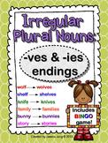 Irregular Plural Nouns: -ves and -ies Endings (includes BI