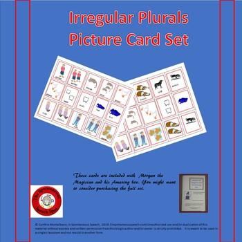 Irregular Plural Task Cards