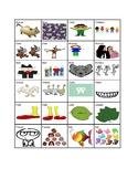 Irregular Plural nouns chart