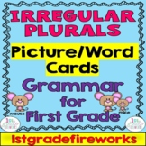 Irregular Plurals / English Language Arts -Grammar for Fir