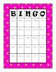 Irregular Plurals Bingo