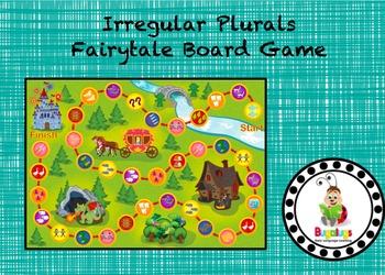 Irregular Plurals Fairytale Board Game