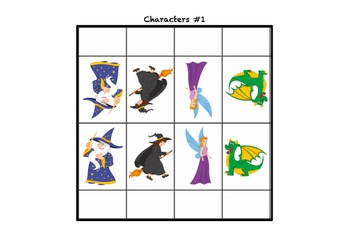 Irregular Plurals Fairytale Board Game