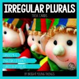 Irregular Plurals Task Cards