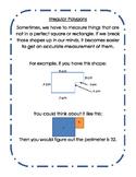 Irregular Polygons Perimeter Guide
