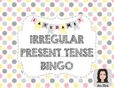 Irregular Present Tense: Extended BINGO