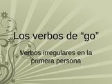 "Irregular Present Tense ""GO"" Verbs Lesson"