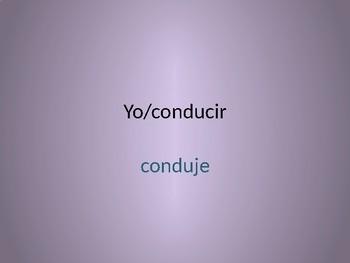 Spanish Irregular Preterit Conjugation Whiteboard Practice