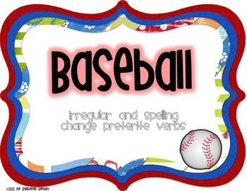 Irregular Preterite Spanish Baseball Game
