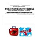 Irregular Preterite Spanish Writing Assessmnet
