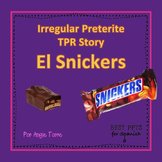 Irregular Preterite TPR Story PowerPoint in Spanish Distance Learning