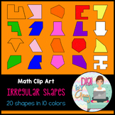 Irregular Shapes Clip Art