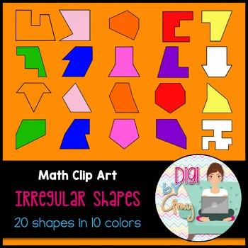 Irregular Shapes Clip Art