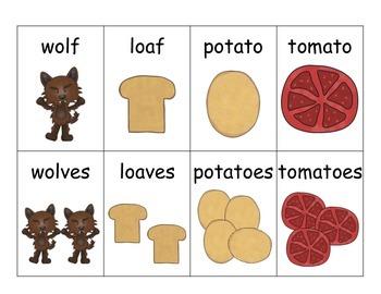Irregular Singular and Plural Nouns