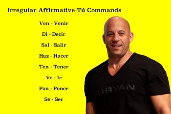 Irregular Tú Commands