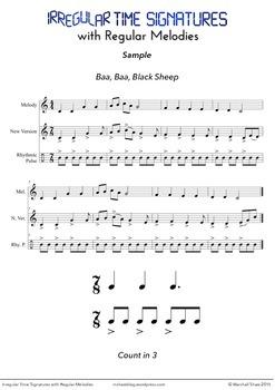 Irregular Time Signatures with Regular Melodies