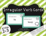 Irregular Verb Task Cards- 2-3rd Grade {common core aligned!}
