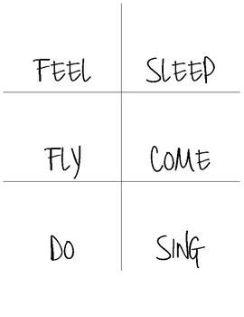 Irregular Verb Flashcards for Speech Therapy and Grammar Practice - Minimal Prep