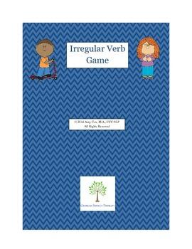 Irregular Verb Game