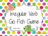 Irregular Verb Go Fish Game L2.1d L3.1d