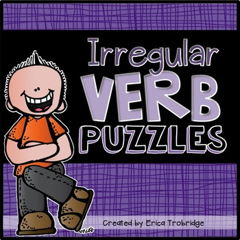 Irregular Verb Puzzles {Past & Present Tense}