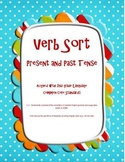 Irregular Verb Sort: Present and Past - 2nd Gr. Common Core Lit Center