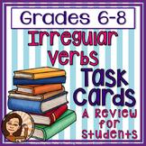 Irregular Verb Task Cards