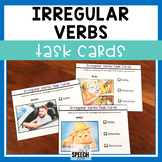 Irregular Verb Task Cards